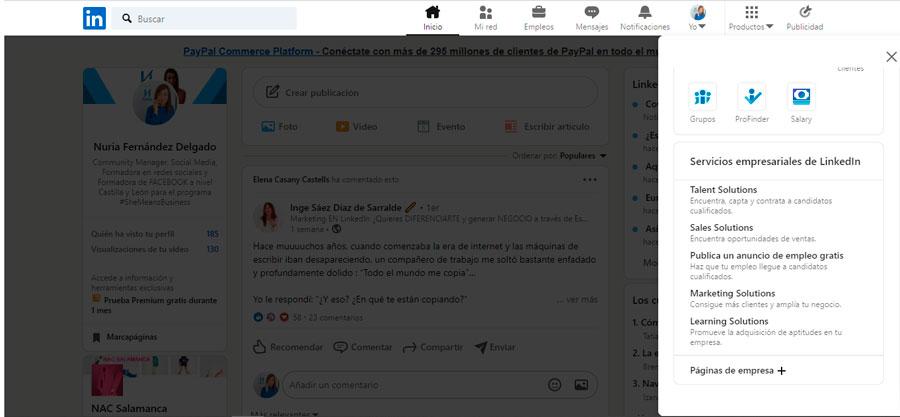 Como crear una pagina de-empresa en LinkedIn Nufede